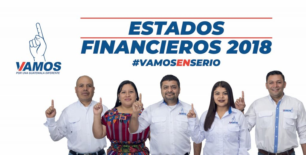 partido vamos estados financieros 2018